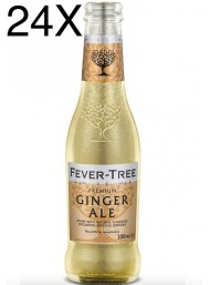 24 BOTTIGLIE - Fever Tree - Ginger Ale - 20cl