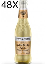 48 BOTTLES - Fever Tree - Ginger Ale - 20cl