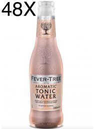 24 BOTTIGLIE - Fever Tree - Aromatic Tonic Water - Acqua Tonica - 20cl