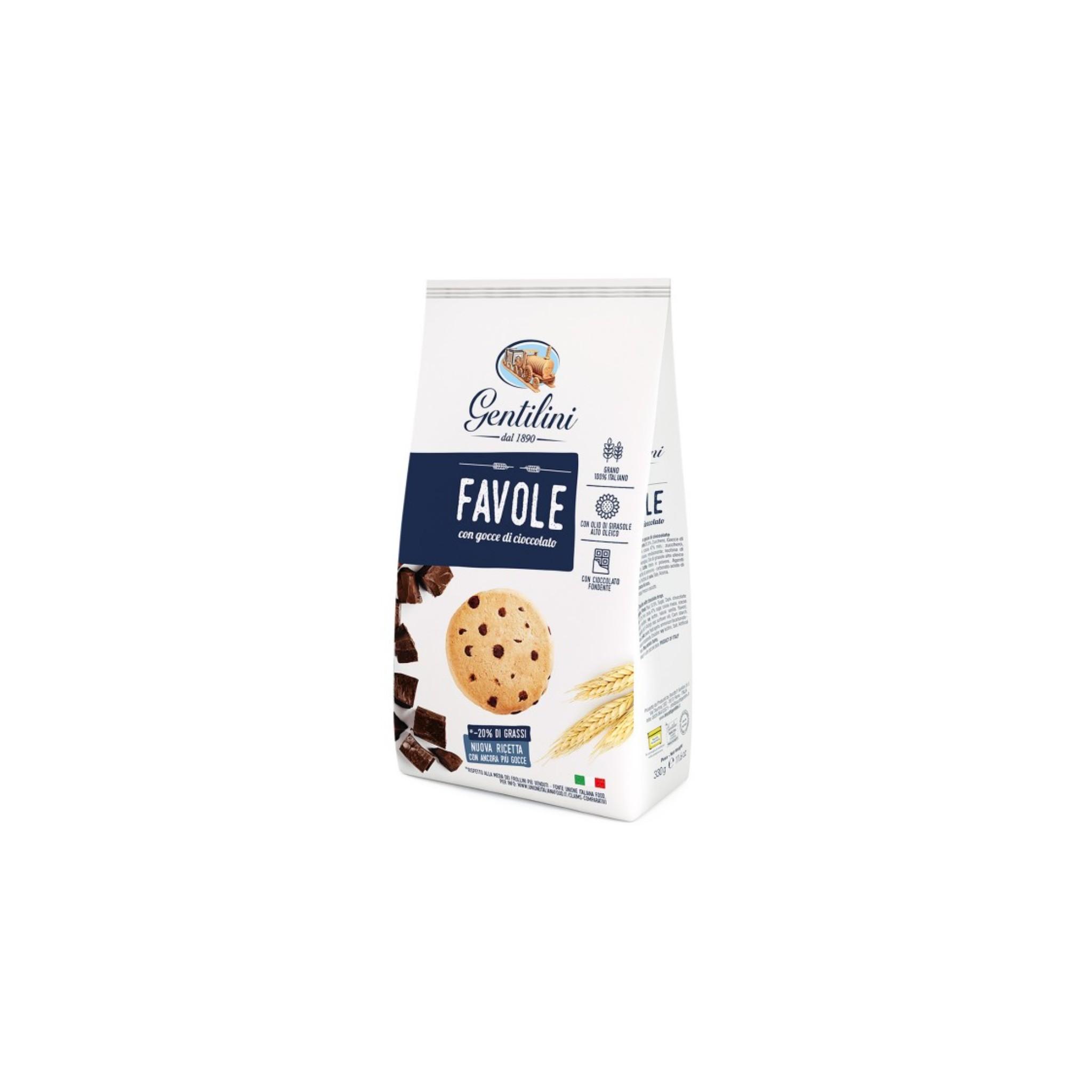 Ricetta Krumiri Con Gocce Di Cioccolato.Vendita Biscotti Gentilini Favole Con Gocce Di Cioccolato Osvego Ai 5 Cereali E Novellini Con Latte E Miele