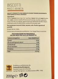 San Patrignano - Corn and Orange Biscuits - 200g