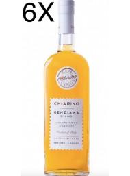 (3 BOTTLES) Pallini - Chiarino - Genziana di Vino - 70cl