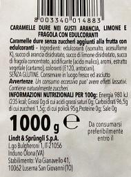 250g Horvath - Lindt -  Frutta Senza Zucchero