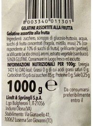 500g Horvath - Lindt -  Mini Gelatine di Frutta - Fragola, Mirtillo, Mora - NOVITA'