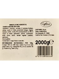 500g - Caffarel - Mini Gelatine Assortite