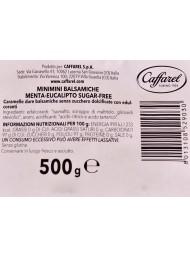 500g - Caffarel - Balsamiche Menta Eucalipto Senza Zucchero