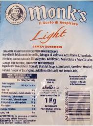 Monk's - Eucaliptos - Sugar-free - 1000g