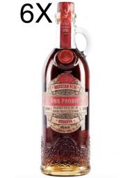 (3 BOTTLES) Rum Habanero - El Ron Prohibido - 12 years old Solera Blended - 70cl