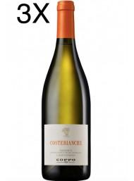 (3 BOTTIGLIE) Cantine Coppo - Costebianche 2018 - Chardonnay DOC - 75cl