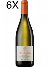 (6 BOTTLES) Cantine Coppo - Costebianche 2018 - Chardonnay DOC - 75cl