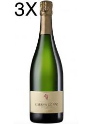 (3 BOTTLES) Cantine Coppo - Riserva Coppo 2015 - Extra Brut - Alta Langa DOCG - 75cl