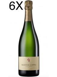 (6 BOTTLES) Cantine Coppo - Riserva Coppo 2015 - Extra Brut - Alta Langa DOCG - 75cl