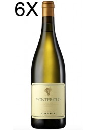 (3 BOTTLES) Cantine Coppo - Monteriolo 2017 - Chardonnay DOC - 75cl