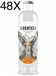 24 BOTTLES - 1724 Tonic Water SEVENTEEN - 20cl - NEW