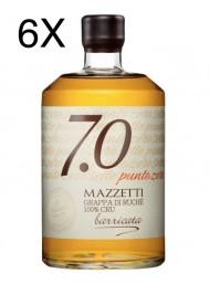 (3 BOTTLES) Mazzetti d'Altavilla - 7.0 Grappa di Ruche' Barricata - 70cl