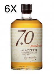 (3 BOTTIGLIE) Mazzetti d'Altavilla - 7.0 Grappa di Ruche' Barricata - 70cl