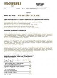 Babbi - 20 Viennesi Fondenti - Wafers Ricoperti di Cioccolato