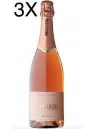 (3 BOTTLES) Haderburg - Brut Rosè Metodo Classico - Alto Adige DOC - 75cl
