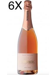 (6 BOTTLES) Haderburg - Brut Rosè Metodo Classico - Alto Adige DOC - 75cl