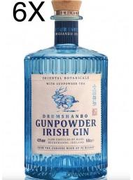 (3 BOTTLES) The Shed Distillery - Gunpowder Irish Gin - 70cl