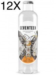 12 BOTTLES - 1724 Tonic Water SEVENTEEN - 20cl