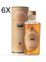 (3 BOTTIGLIE) Sibona - Grappa Riserva - Affinata in Botti da Sauternes - 50cl