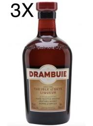 (3 BOTTLES) Drambuie - Heather Honey Whisky Liqueur - 70cl