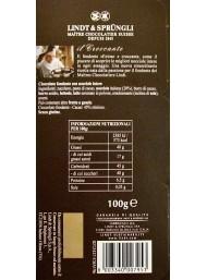 Lindt - Passione Fondente - Dark Chocolate with Hazelnut - 100g
