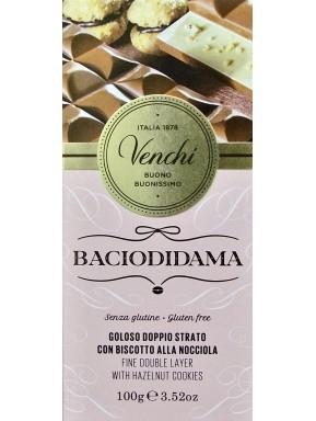 Venchi - Tavoletta Bacio di Dama - 100g - NOVITA'
