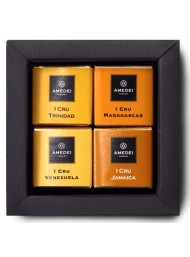 Amedei - I Cru selection - 12 Napolitains Single Origin - 55g