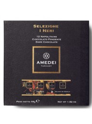 "Amedei - ""I Neri"" selection - 12 Napolitains - 55g"