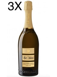 (3 BOTTLES) Col Vetoraz - Extra dry - Prosecco di Valdobbiadene 2019 DOCG - 75cl