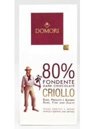 Domori - Dark Chocolate 80% Cocoa Criollo - 50g
