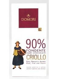 Domori - Dark Chocolate 90% Cocoa Criollo - 50g