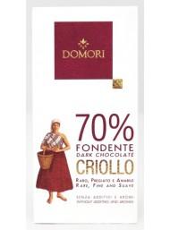 Domori - Dark Chocolate 70% Cocoa Criollo - 50g