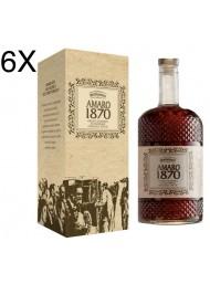 (3 BOTTLES) Bertagnolli - Amaro 1870 - 70cl
