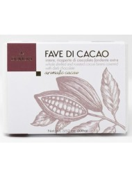 Domori - Whole Shelled and Roasted Cocoa Beans Covered with dark chocolate - 100g