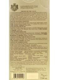 Baratti & Milano - Dark Chocolate 75% - Ecuador - 75g