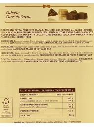 Venchi - Cubotto Cocoa Heart - 75% - 500g
