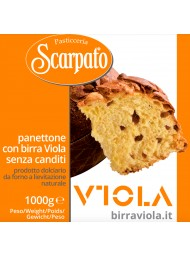 "Scarpato - Panettone Craft with beer ""Viola"" - 1000g"