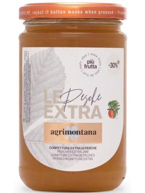 Agrimontana - Pesche - con il 30% in meno di zucchero - 350g