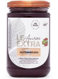 Agrimontana - black cherry - with 30% less sugar - 350g