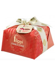 Filippi - Panettone - Wild Strawberries and Milk Chocolate - 1000g - NEW