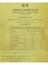 Lindt - 20 Marrons Glacés Whole - 400g
