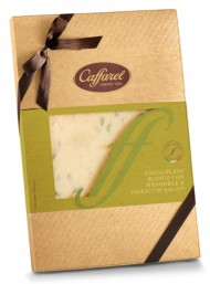 Caffarel - The Creations - White Chocolate with Almonds and Pistachios - 750g