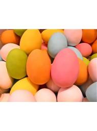 (15 Pezzi) Buratti - Uova di Gallina Confettate