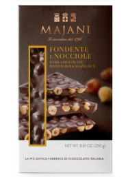 Majani - Snap - Fondente con Nocciole - 250g