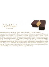 Babbino - Dark Chocolate - 500g