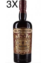 (3 BOTTLES) Distilleria Quaglia - Vermouth del Professore Rosso - 2020 - 75cl