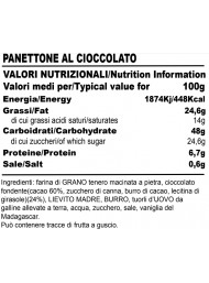 Baghi's - Panettone al Cioccolato Sottovetro - 200g